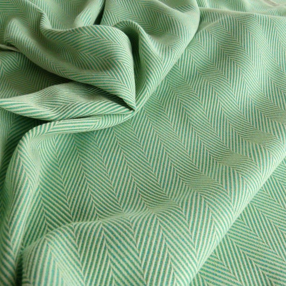 Lisca Karibik Didymos Woven Baby Wrap Green Size 6 470 cm