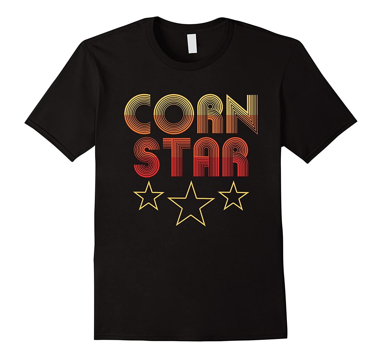 Corn Star - Retro Cornhole Team Funny T-shirt-TJ