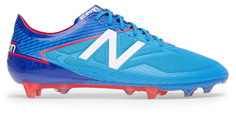 (ニューバランス) New Balance 靴シューズ メンズサッカー Furon 3.0 Pro FG Bolt with Royal Blue and Energy Red ボルト ロイヤル ブルー レッド US 12 (30cm) B07796XFF1