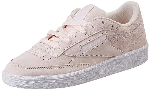 77613a3b0 Reebok Club C 85 Trim NBK, Chaussures de Tennis Femme
