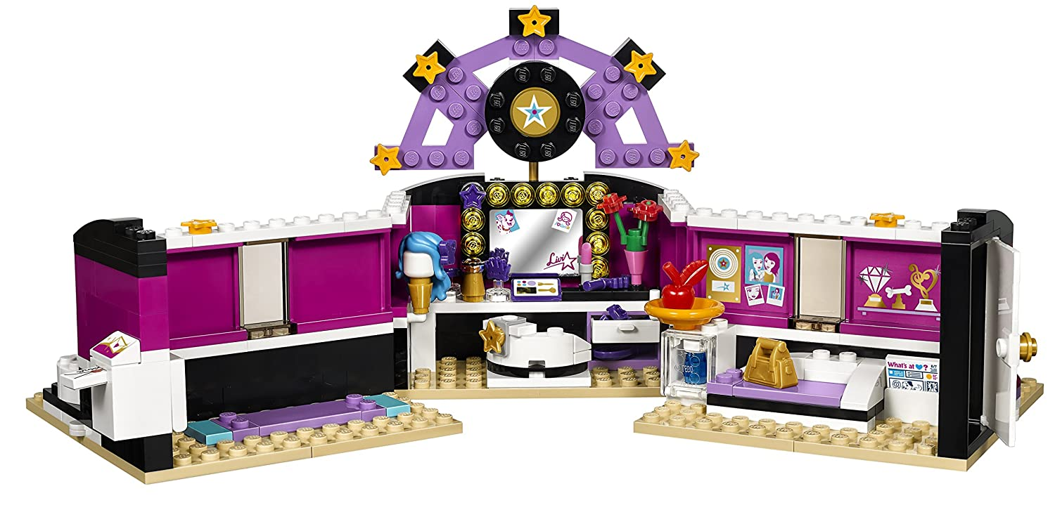 Amazon LEGO Friends 41104 Pop Star Dressing Room Building Kit Toys Games