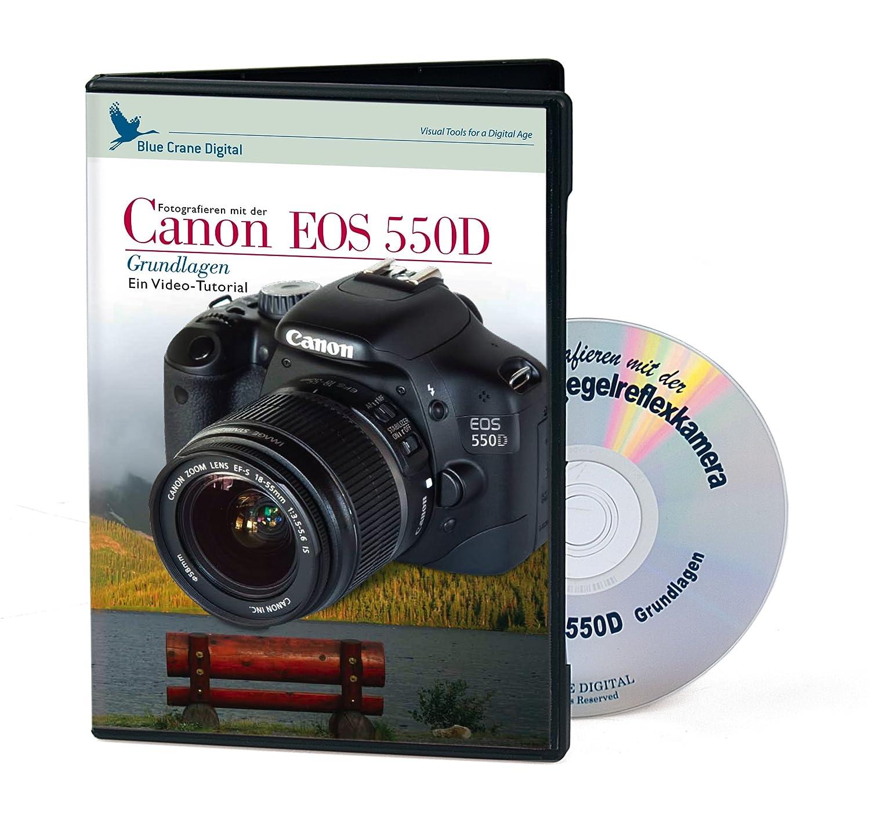 Kaiser - Tutorial de vídeo para la cámara SLR Canon 550D (DVD, en ...
