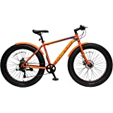 Marlin Bikes Rock Rider Fatbike Bicycle, 26X4.0 Inches (Orange)