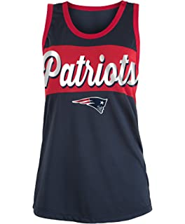 5th   Ocean New England Patriots Women s Script Stripe Polymesh ... f59b40f65
