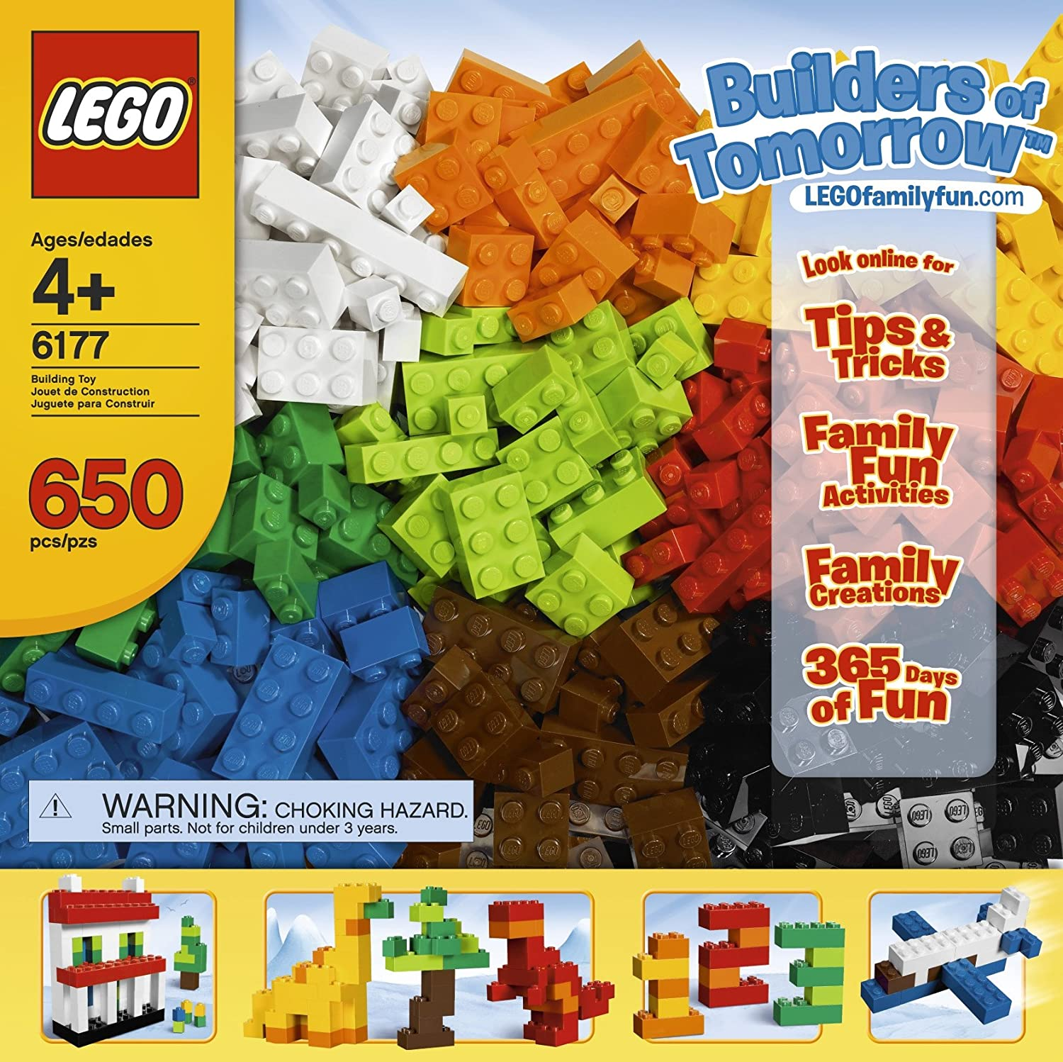 LEGO Bricks /& More Builders of Tomorrow Set 6177 Discontinued by manufacturer 4568348