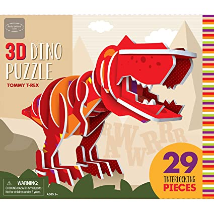 Bendon Kathy Ireland Tommy T-Rex 3D Puzzle (29 Piece)