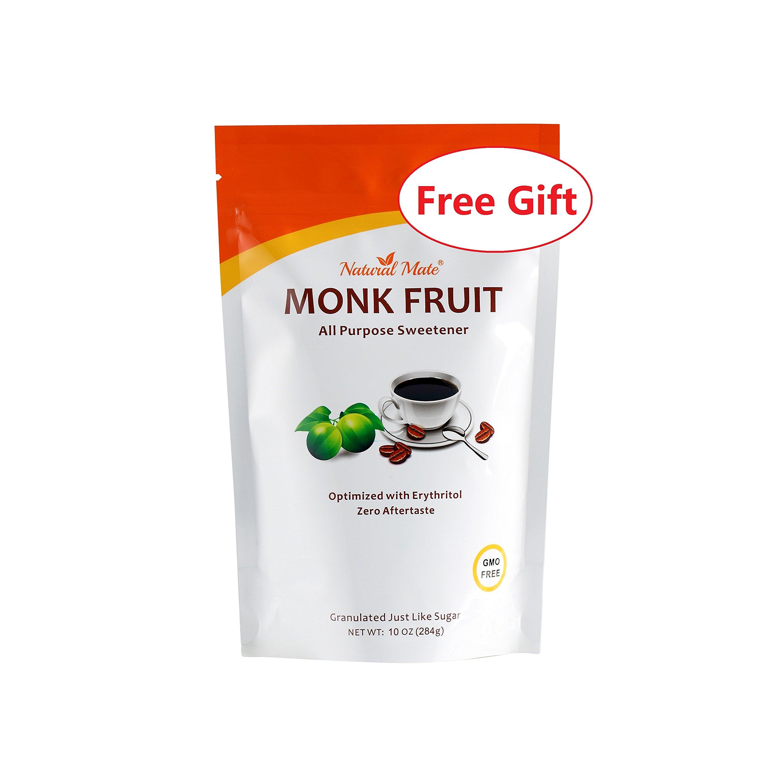 Natural Mate Stevia All Purpose Natural Sweetener, 5kgs/11Lbs   Free Gift: Monk Fruit Sweetener (10oz) by Natural Mate (Image #3)