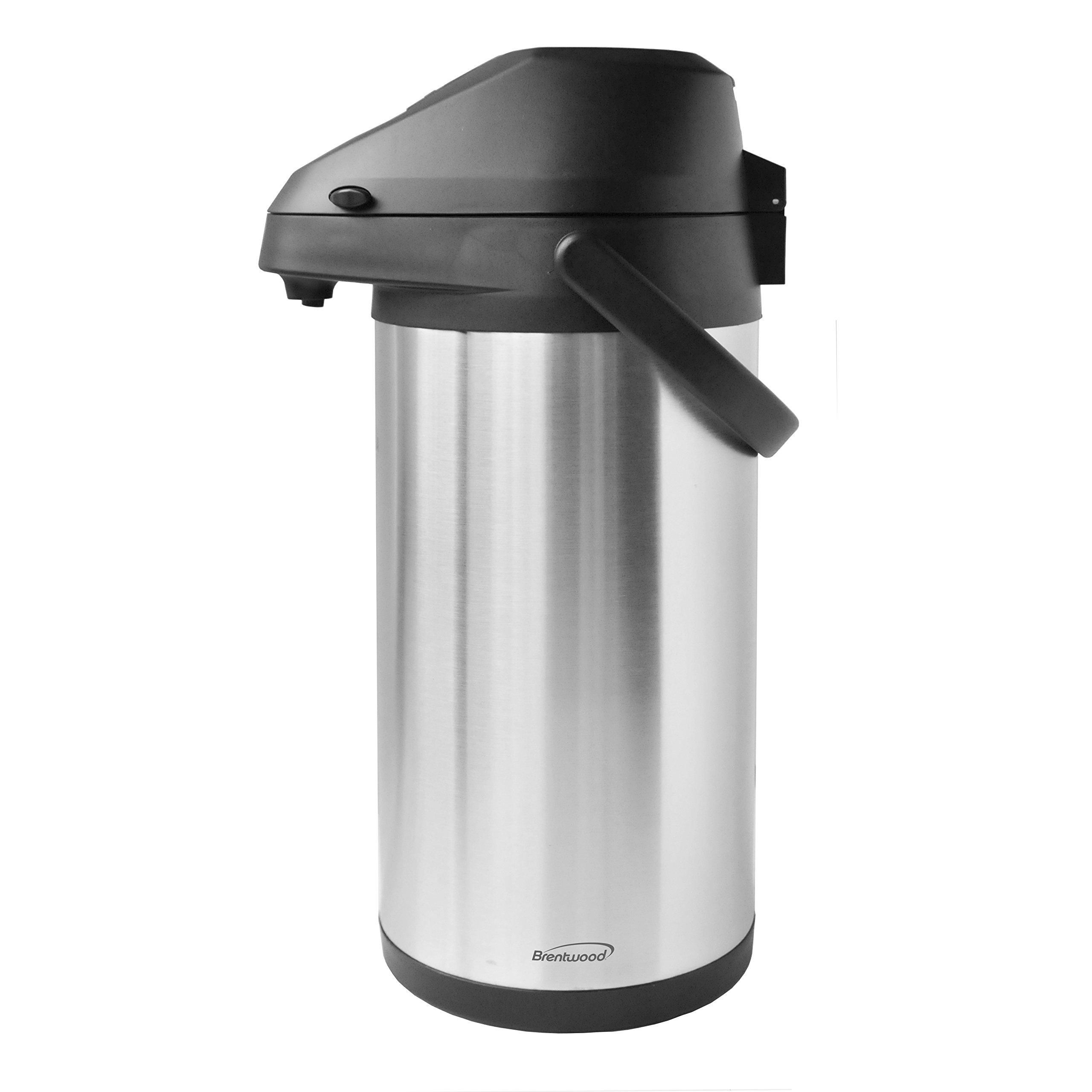 Brentwood CTSA-3500 3.5-Liter Airpot Hot & Cold Drink Dispenser, Stainless Steel by Brentwood
