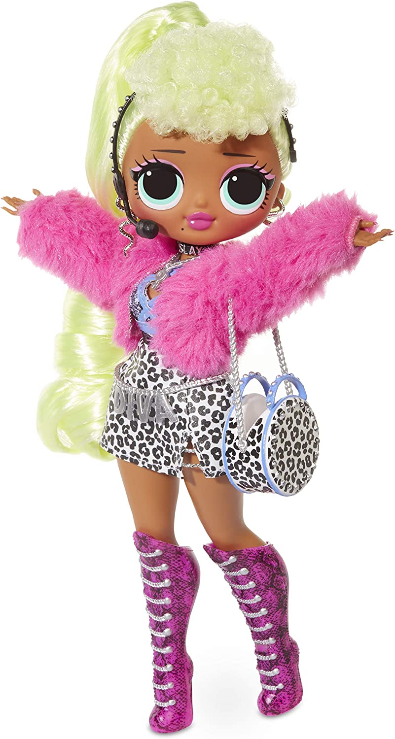 Amazon Com L O L Surprise O M G Lady Diva Fashion Doll With 20