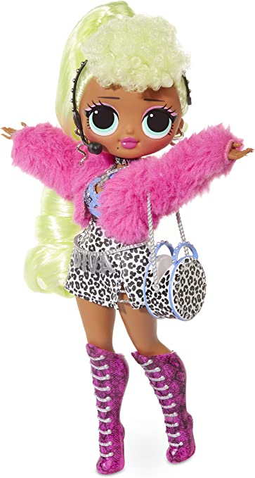Amazon Com L O L Surprise O M G Lady Diva Fashion Doll With 20 Surprises Toys Games