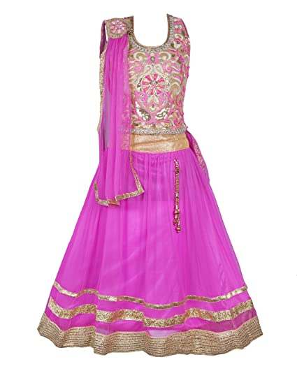My Lil Princess Girl s Blended Net Lehenga Choli Lehenga Cholis bc42472ba