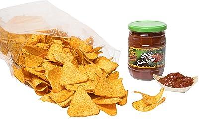 aperisnack® – snack2101 – Dip – Nachos Gusto Barbeque, 1 sobre sobres 750 gr