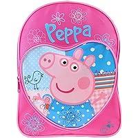 Peppa Pig - Mochila infantil, diseño de corazones