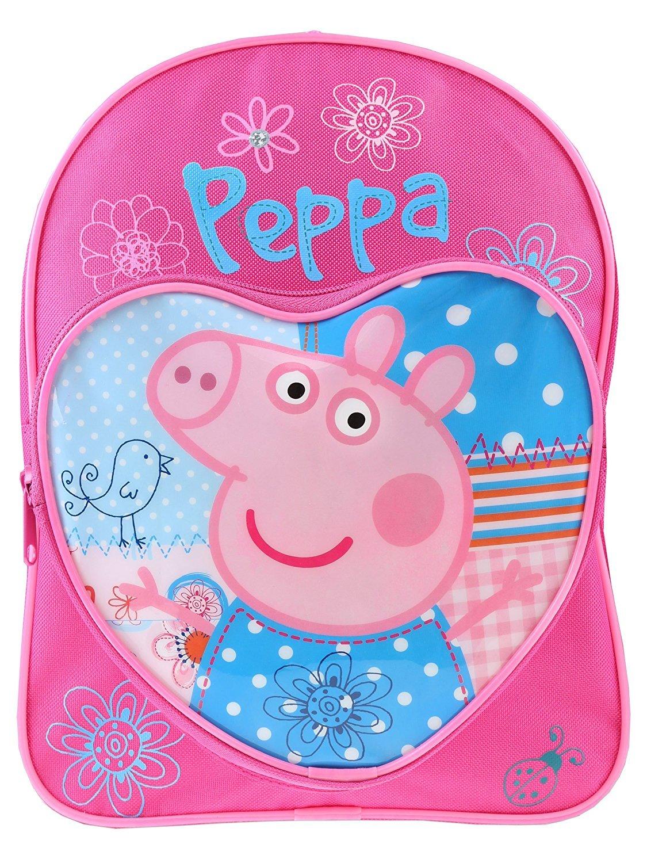 Peppa Pig Patchwork Backpack with Adjustable Backstraps SportsCentre PEPPA001177