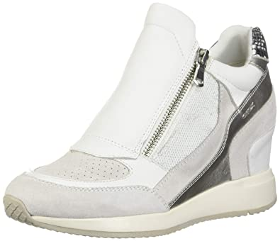 low priced f12a1 484b0 Geox Women's D Nydame a Hi-Top Trainers