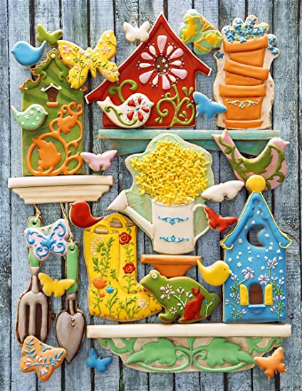 Springbok Puzzles - Edible Garden - 500 Piece Jigsaw Puzzle - Large 18  Inches by 23 5 Inches Puzzle - Made in USA - Unique Cut Interlocking Pieces