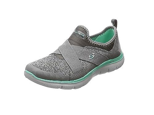 bce2d59fe914 Skechers Women s Flex Appeal 2.0 New Image Low-Top Sneakers  Amazon ...