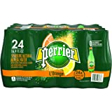 PERRIER L'Orange Flavored Sparkling Mineral Water (Lemon Orange Flavor), 16.9-Ounce Plastic Bottles (Pack of 24)