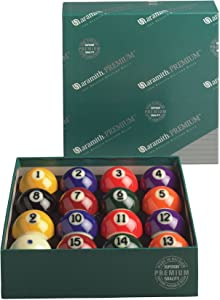 Aramith Genuine Belgian Premium Pool/Billiard Ball Set (Phenolic Resin)
