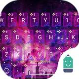Sparkling Night Theme&Emoji Keyboard