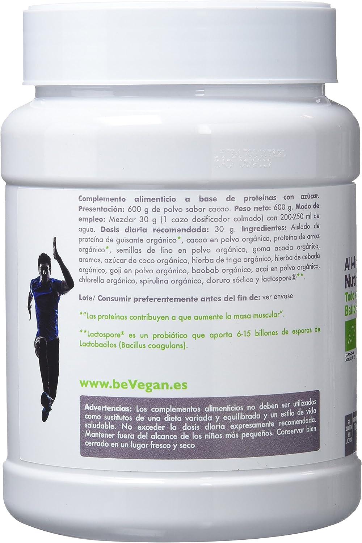 beVegan Nutricional Shake Cacao - 600 gr: Amazon.es ...