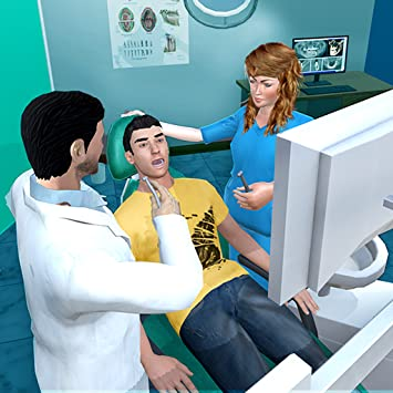 Emergency Dentist Surgery Games - Play Dental Surgeon at Dentist Clinic in  Kids Dentist Games  Best Teeth Doctor Games  Provide Dental Care at Doctor