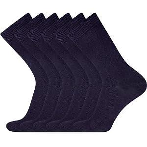 Pack de 10 oodji Ultra Hombre Calcetines Altos