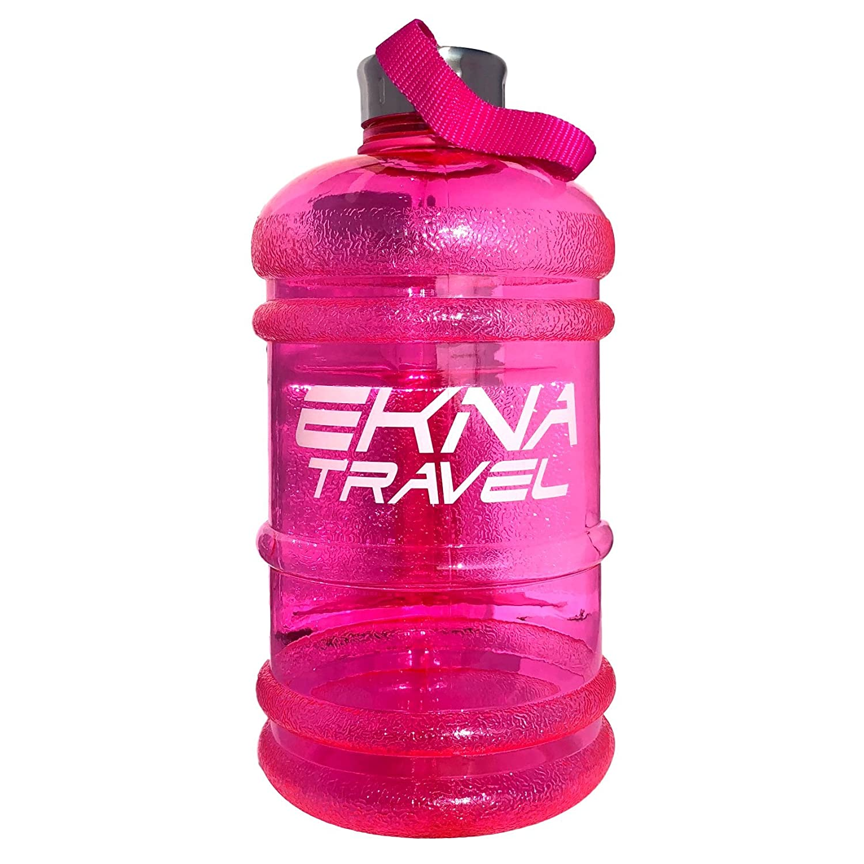 EKNA Bottle| 2.2litres | l'eau Bottle| Eau Bottle| Eau Gallon| Idéal pour l'eau quotidienne Requirements| pour tous les jours Life|fitness ou Travel| sans BPA |with Indicateur de niveau