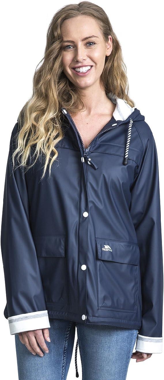 Trespass Womens//Ladies Muddle Hooded Waterproof Walking Jacket Coat