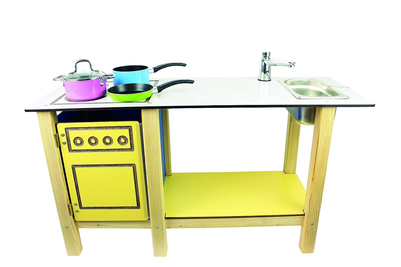 Matschküche für Draußen - Matschküche mit Wasseranschluss