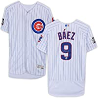 $449 » Javier Baez Chicago Cubs 2016 World Series Champions Autographed Majestic Authentic Jersey - Fanatics Authentic Certified