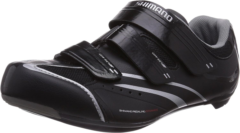 SHIMANO SH-R078 Zapatillas de Ciclismo de Carretera, Hombre, Black ...