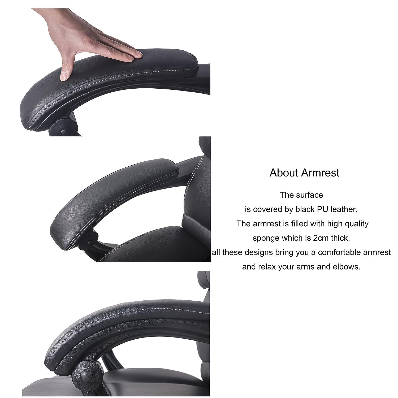 Amazon Merax Technical Leather Big Tall Executive Recliner