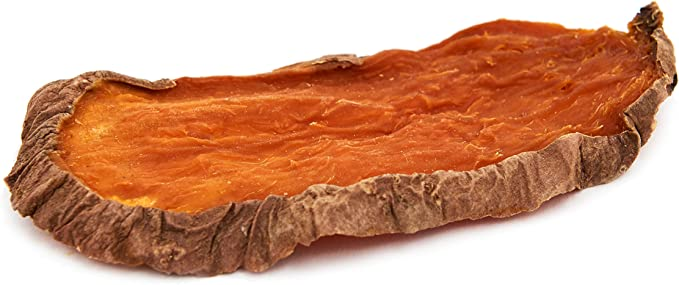 Brutus & Barnaby Sweet Potato Dog Treats- Dehydrated North American All Natural Thick Cut Sweet Potato Slices, Grain Free, No Preservatives Added, Best High Anti-Oxidant Healthy Dog Chew