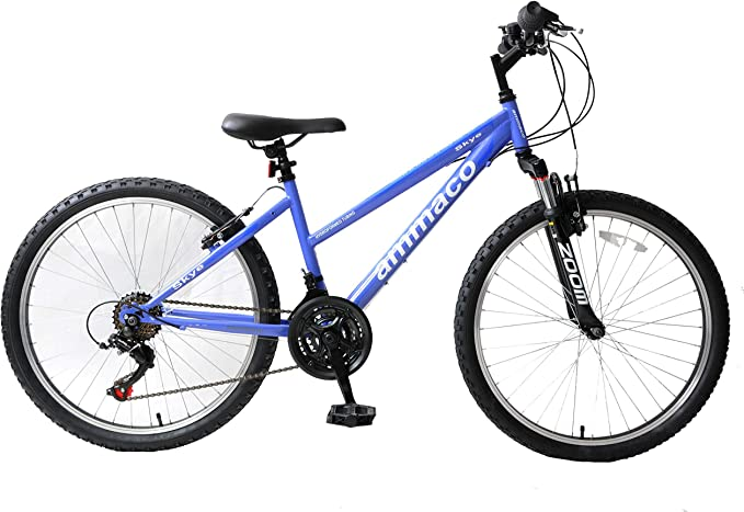 "Ammaco Skye 24"" Wheel Girls Mountain Bike"