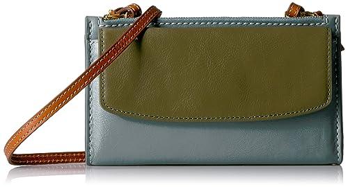 Fossil Sage Mini Bag Blue Multi Wallet