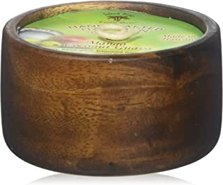 product image for Island Soap & Candle Works Monkeypod Coconut Bowl Candle, Mango Coconut Guava