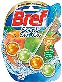 Bref Scent Switch Juicy Peach/Sweet Apple, Rim Block Toilet Cleaner, 50g (2582545)