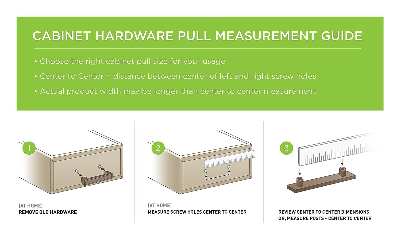 Liberty P01012-SS-C 96/135mm Cabinet Hardware Handle Steel Bar Pull ...