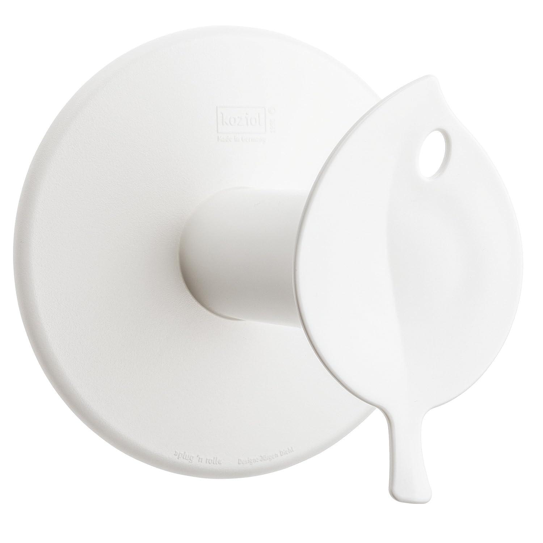 Soportes para Papel de ba/ño Koziol Sense Montado en Pared Gris 127 mm, 130 mm, 127 mm