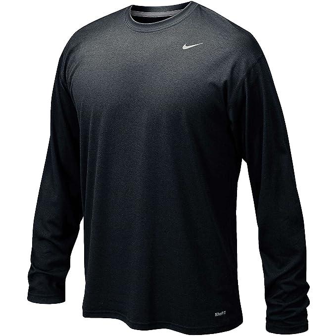 Nike Men S Legend Long Sleeve Tee At Amazon Men S Clothing Store