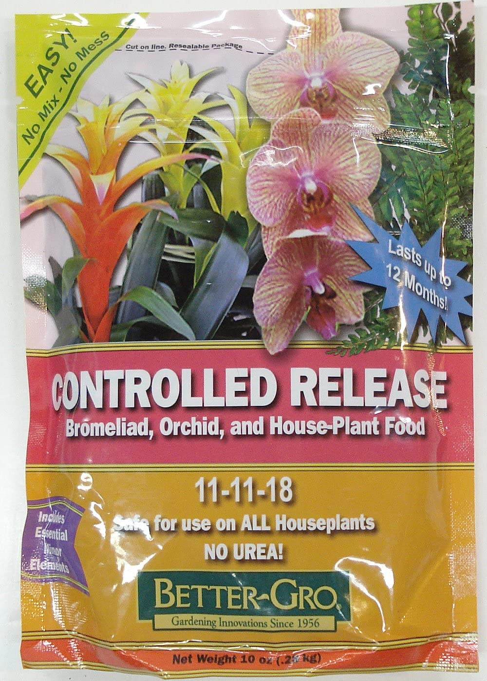 Better-Gro Controlled Release Orchid and House Plant Food