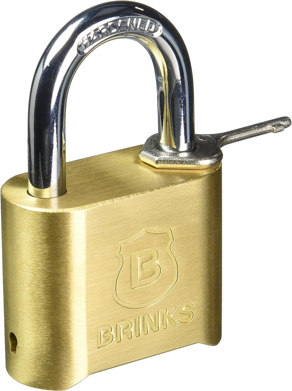 Brinks 661 49001 50mm 2 Inch Brass Resettable Lock Amazon Com