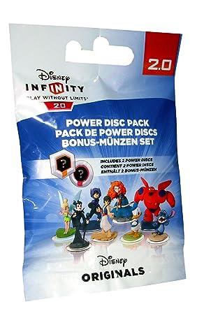 Disney Infinity 20 Pack De 2 Power Discs Amazonfr Jeux Vidéo