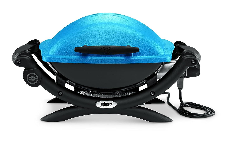 Weber Elektrogrill Tischgrill : Weber grill q elektro tischgrill blue amazon garten