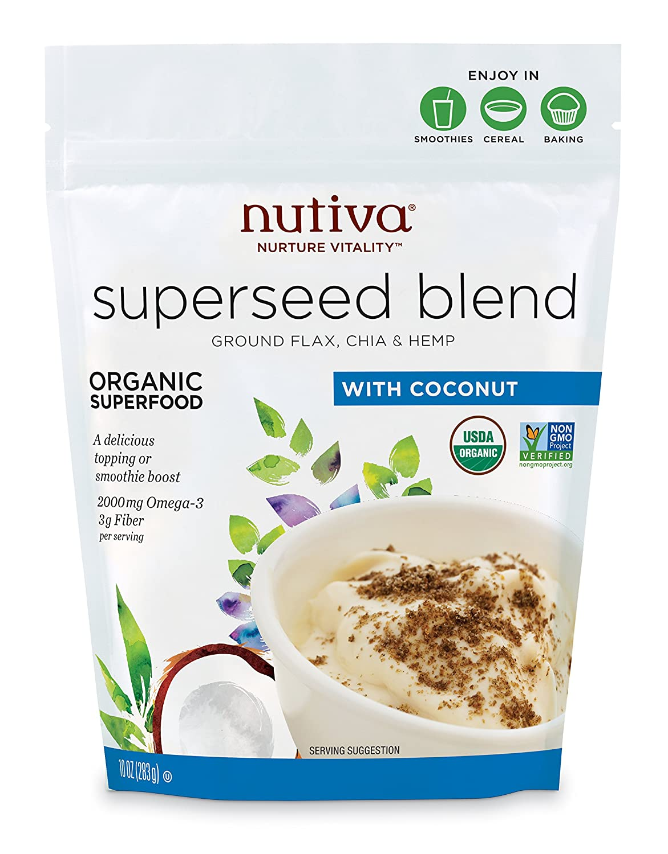 Súper mezcla de semillas orgánicas Nutiva ...