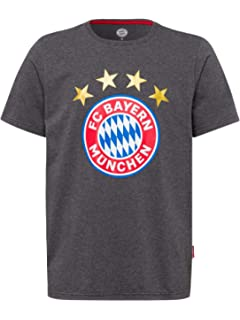 FC Bayern M/ünchen T-Shirt Logo anthrazit