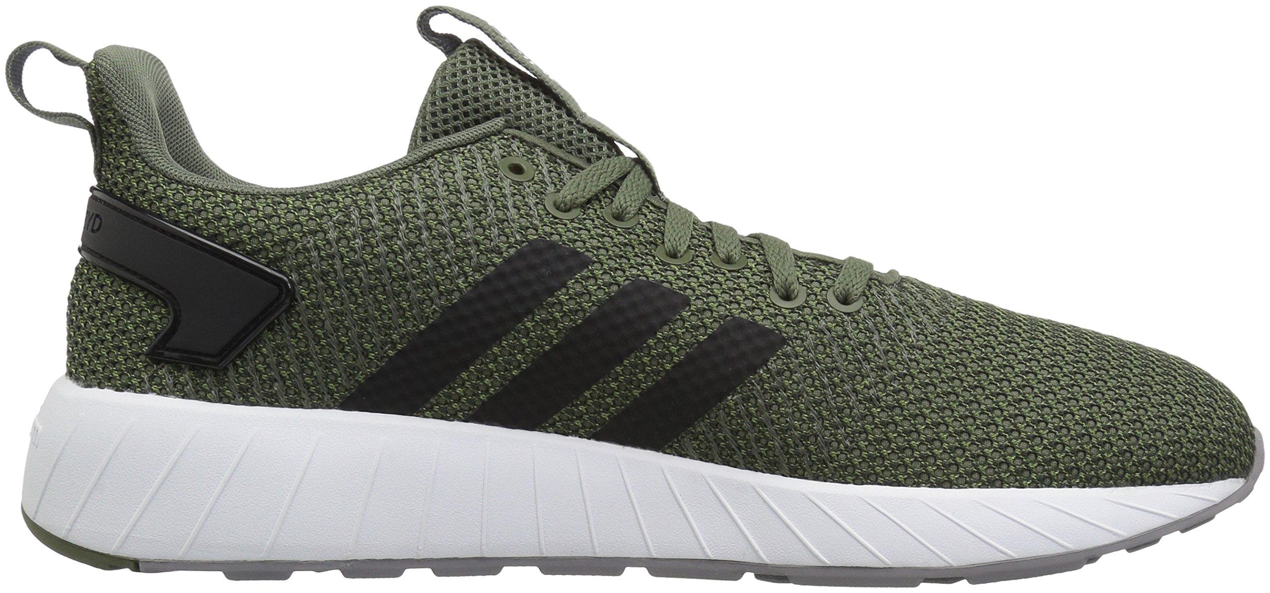 adidas Men's Questar BYD Running Shoe, Base Green/Black/Grey, 6.5 M US by adidas (Image #6)