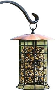 Songbird Essentials BCI-008181 Copper Roof Suet Log Feeder