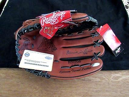 8642298e7b1 Bernie Williams Wsc Yankees Signed Auto Rs1208 Rawlings Glove ...